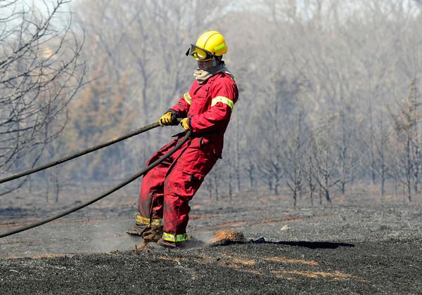 Moore Grass fire