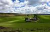 Pohľad na Sleddale farmu