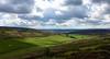 Pastviny a hospodárstvo Sleddale farmy