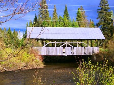 Happy Corner Covered Bridge