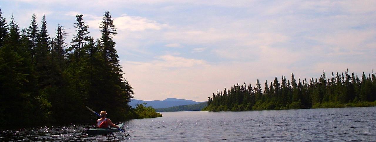 Kayaking Second CT Lake