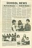 Moosetalk 1982 Summer. Page 10. School news. Jana Clarke, Nina Johal, Hugh Brown. Christine McAdam, Valerie Iserhoff, Derek McLeod. Basketball champs from Moosonee.