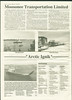 Moosetalk 1993 Summer. Moosonee Transportation Limited. Self propelled barge Arctic Ignik.
