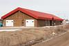 School board building on Bay Road at former base in Moosonee.