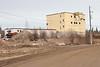 Base of former radome in Moosonee 2007 April 1st.