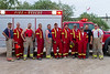 Moosonee Fire Department team for Canada Day Fireworks 2011 July 1st.