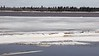 Shore ice heading down the Moose River 2017 April 29th.