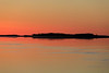 Looking down the Moose River to the east of where the sun will rise.