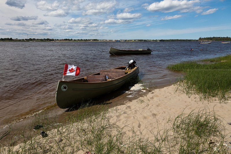 Boats on Charles Island
