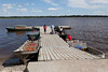 Public docks in Moosonee