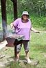 Elizabeth Kamalatisit cooking.