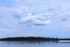 Clouds over the Moose River before the storm. 2017 May 27th. Butler Island.