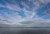 Clouds across the Moose River from Moosonee.