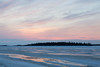 View across the Moose River before sunrise.