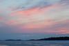 Purple skies looking down the Moose River before sunrise.