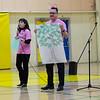 Erasing bullying presentation at Northern Lights Secondary School in Moosonee.  Angela and Carman Tozer. #pinkshirtday