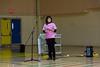 Erasing bullying presentation at Northern Lights Secondary School in Moosonee.  Angela Tozer, Principal. #pinkshirtday