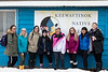 Visiting students from Guelph-Humber PsychologyProgram along with a Moosonee friend.