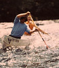 Fred shooting rapids - Photo sent from Rene Elsner in Germany trying to find Fred his guide in the 1970s