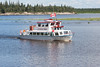 Polar Princess tour boat on the Moose River 2006 July 23rd.