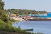 Barges at Moosonee 2006 July 23rd.