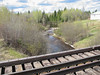 View towards Store Creek Dam from railway bridge 2007 May 28th