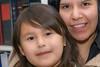 Meridian and Loretta in library at Keewaytinok Native Legal Services 2008 June 27