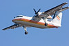 Air Creebec Dash 8 C-CFSK on approach to Moosonee.