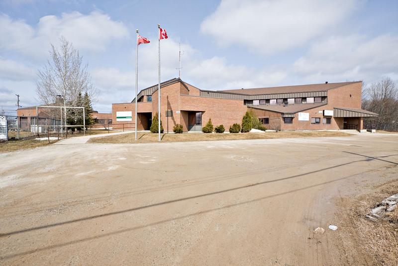 Ontario Government Building in Moosonee