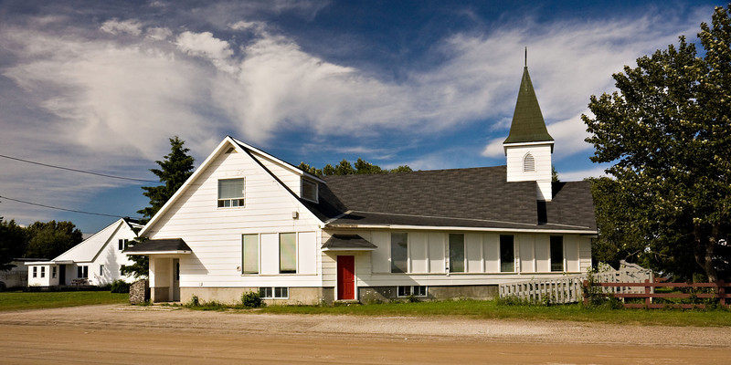 Church of the Apostles (Anglican) in Moosonee, Ontario