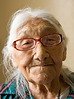 Marguerite Wabano in her apartment in Moosonee, Ontario. Mrs. Wabano is 104 years old and is to be present in the House of Commons in Ottawa on June 11, 2008 for the government's apology to residential school students.