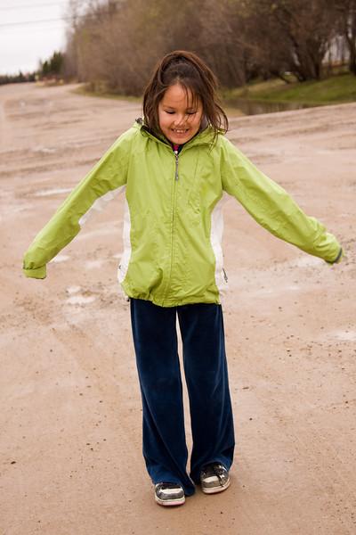 Kaitlin Etherington aged 9