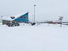 Moosonee Airport Christmas Day 2013