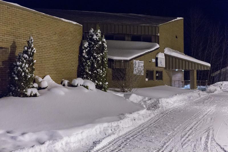 Part of Ontario Government Building in Moosonee.