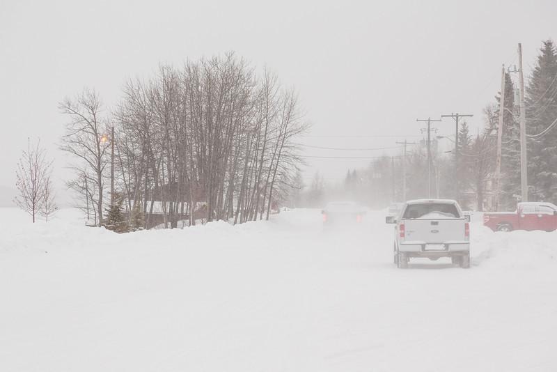 Revillon Road in Moosonee 2013 December 9th.