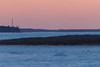 Looking up the Moose River from Moosonee late afternoon before sunset.