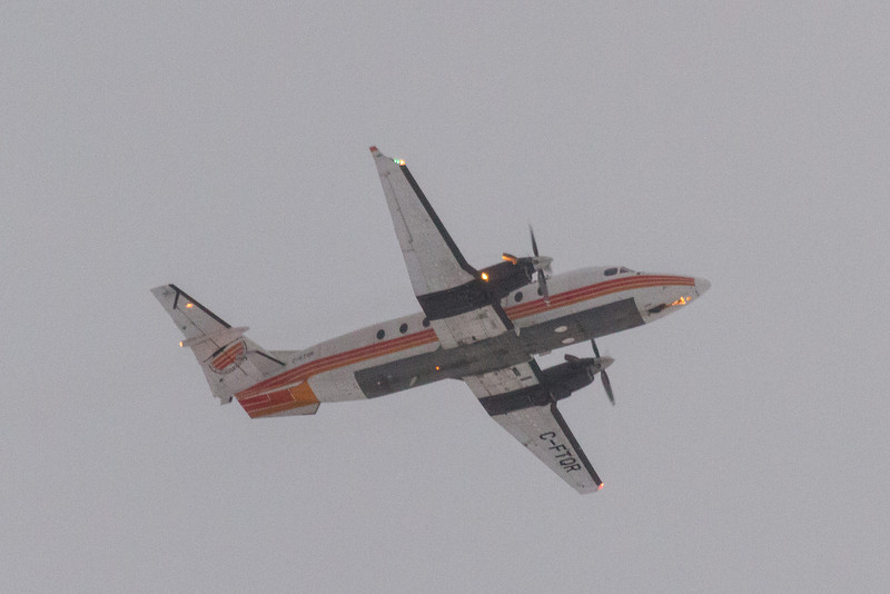Air Creebec C-FTOR departing from Moosonee.