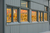 Moosonee Post Office window.