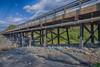 Atim Road bridge over Store Creek after maintenance. HDR efx detailed 1.