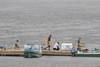 Bringing boat seats off the public docks.