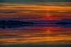 Looking down the Moose River at Moosonee just before sunrise. 2016 July 31st. HDR efx DARK.