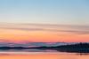 Before sunrise, looking down the Moose River at Moosonee. HDR processed in Lightroom.
