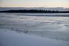 Butler Island across the Moose River.