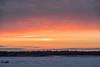 Looking across the Moose River from Moosonee before sunrise 2016 December 21st. HDR Lightroom processed.