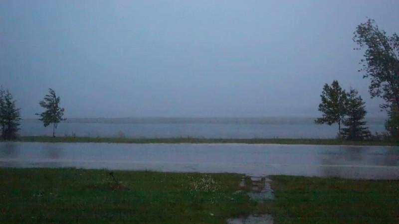 Thunder and lightning storm 2016 July 212st in Moosonee.