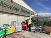 Garden centre open at Moosonee Northern.