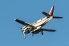 Wabusk Air Beech King Air 100 C-GWWA coming to land at Moosonee.