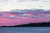 Purple sky over the north of Butler Island before sunrise.
