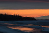 Moose River shoreline just before sunrise 2016 May 5th.