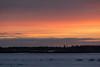 Looking across the Moose River from Moosonee before sunrise 2016